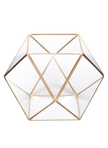 Kristal Tasarımlı Saksılık-Warm Design